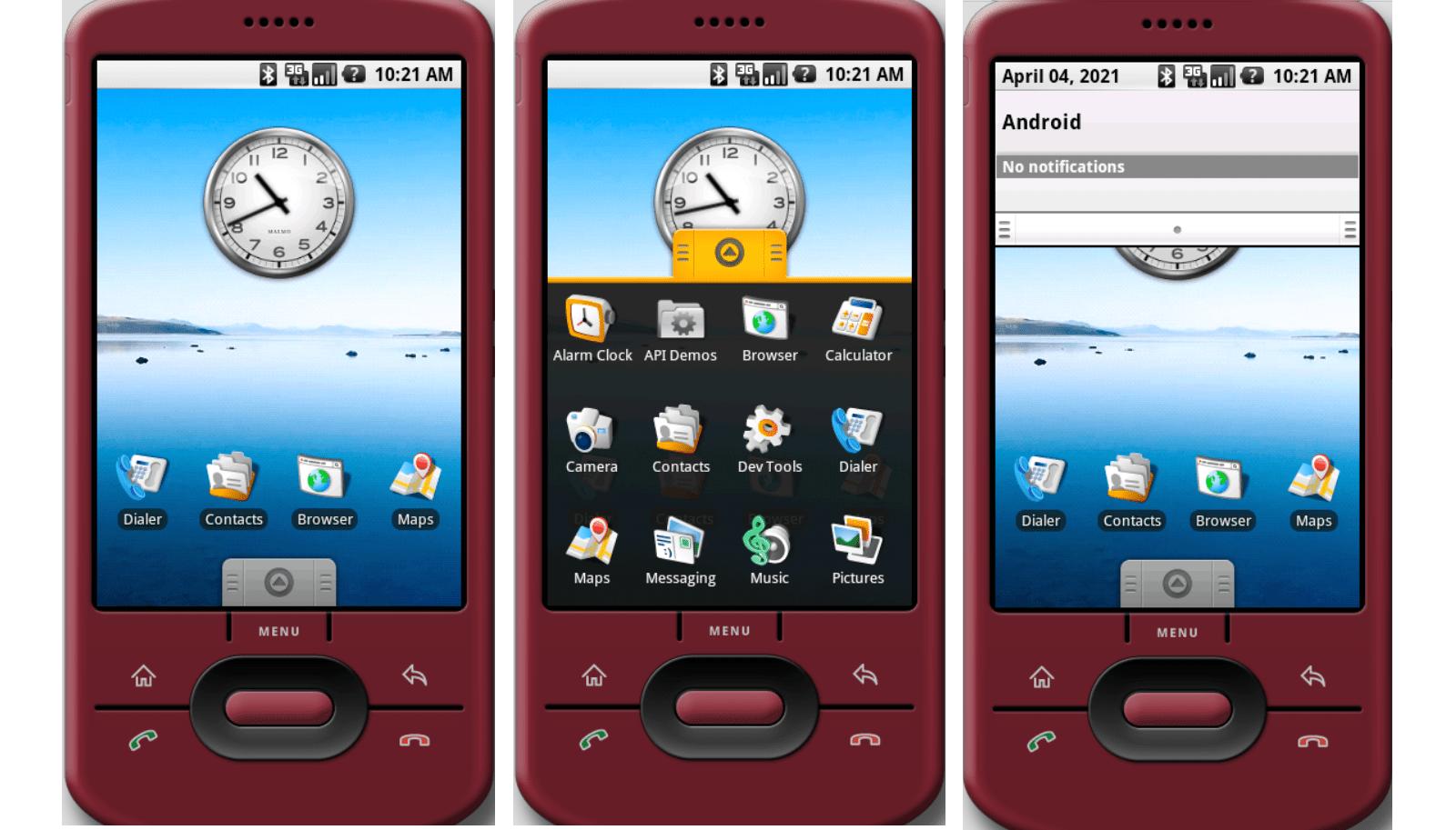 Az első Android rendszer