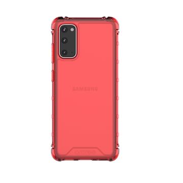 Araree S Cover  ütésálló piros áttetsző TPU szilikon tok Samsung Galaxy S20 SM-G980