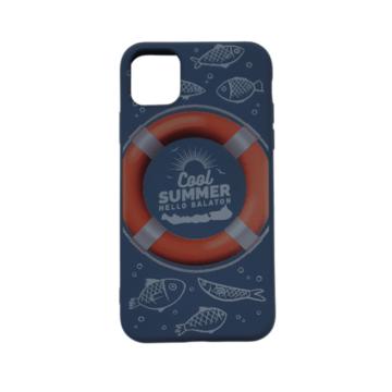 Cellect kék, mentőöv mintás TPU Szilikon Tok, Apple iPhone 12 mini