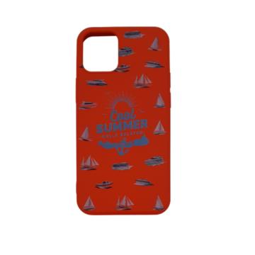 Cellect piros, hajó TPU Szilikon Tok, Apple iPhone 12 mini