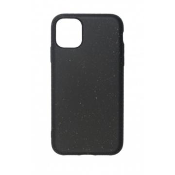 Cellect GoGreen Lebomló, Komposztálható tok, fekete Apple iPhone 11