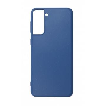 Cellect GoGreen Lebomló, Komposztálható tok, kék Samsung Galaxy S21 SM-G991