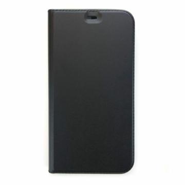 Cellect műbőr fekete oldalra nyíló flip tok, iPhone 8 Plus