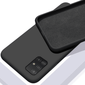 Cellect fekete színű TPU Szilikon Tok Samsung Galaxy A50 SM-A505F