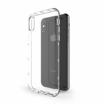 Hana Air ütésálló átlátszó (víztiszta) TPU szilikon tok Apple iPhone X/Xs