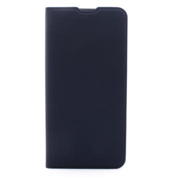 Cellect műbőr sötétkék oldalra nyíló flip tok, Samsung Galaxy A50s SM-A507F