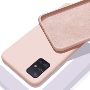 Cellect púder színű TPU Szilikon Tok iPhone 12/12 Pro