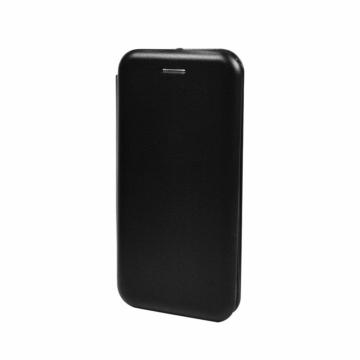 Fekete oldalra nyíló mágneses flip tok  Apple iPhone 12 Pro Max
