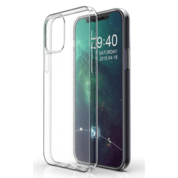 Átlátszó (víztiszta) TPU szilikon tok Apple iPhone 12