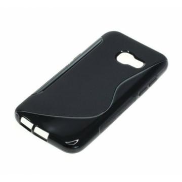 Hempi Fekete S-Line Ütésálló TPU szilikon tok Samsung Galaxy A5 SM-A500F