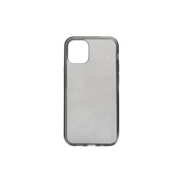 Fekete csillámos  TPU szilikon tok Apple iPhone 12 Mini