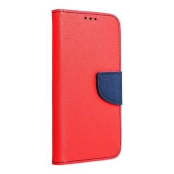 Hempi műbőr piros-kék oldalra nyíló mágneses flip tok, Samsung Galaxy S20 SM-G980