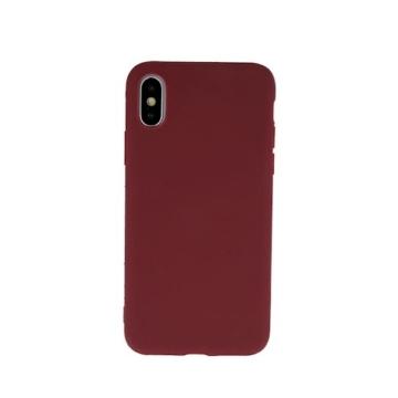 Hempi Second Skin Burgundi Vörös Szilikon TPU Tok iPhone 11 Pro