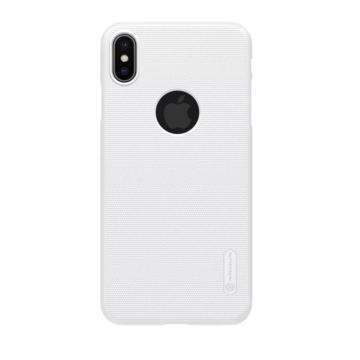 Nillkin SUPER FROSTED SHIELD Fehér PC (műanyag) tok, Huawei P20 Lite