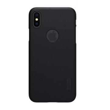 Nillkin SUPER FROSTED SHIELD Fekete PC (műanyag) tok, Samsung Galaxy A8 Plus (2018) SM-A730F
