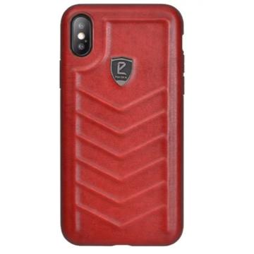 Puloka Speeder Bordó PC (műanyag) Tok Eredeti Bőr Hátlappal iPhone 7/8/SE 2020