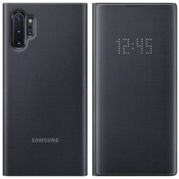 Samsung Smart Led View Cover tok ledes fedéllel - fekete, Samsung Galaxy S20, SM-G980