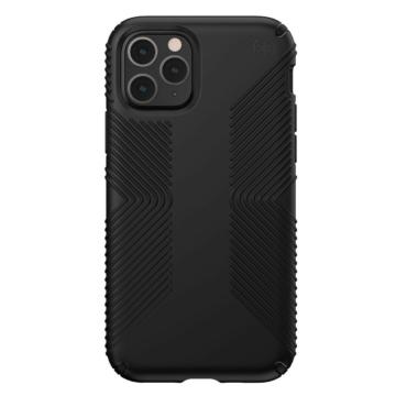 Speck Presidio GRIP Ütésálló Fekete szilikon TPU tok, iPhone 7 Plus/8 Plus