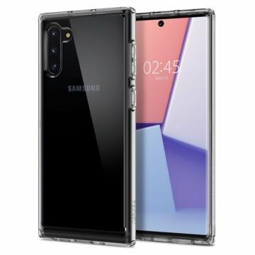 Spigen Liquid Crystal Áttetsző TPU szilikon tok, Samsung Galaxy Note 10, SM-N970