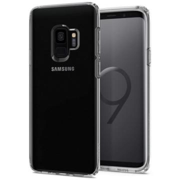 Spigen Rugged Crystal ütésálló Áttetsző TPU szilikon tok, Samsung Galaxy S9 Plus SM-G965