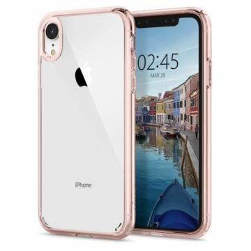 Spigen Ultra Hybrid PC + TPU tok - rose gold, Apple iPhone Xs Max