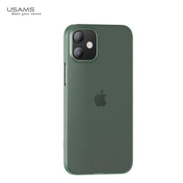 Usams Gentle matt áttetsző zöld PP (polipropilén) tok Apple iPhone 12 Mini