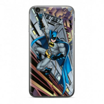 Warner Brothers DC szürke Batmanes Szilikon Tpu tok Samsung Galaxy A6 Plus (2018) SM-A605F