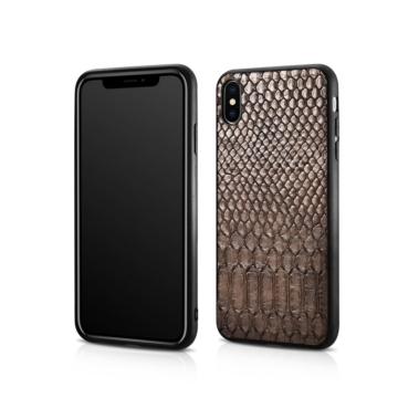 """Xoomz """"Kígyóbőrrel"""" borított PC műanyag tok, Apple iPhone Xs Max"""