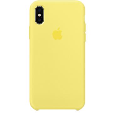 Apple Limonádé Sárga Gyári Szilikon hátlapi TPU tok, iPhone 11 Pro