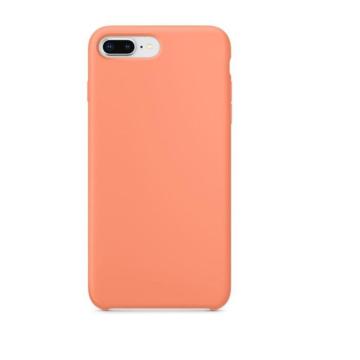 Apple Utángyártott Barack színű Szilikon hátlapi TPU tok, iPhone X/Xs