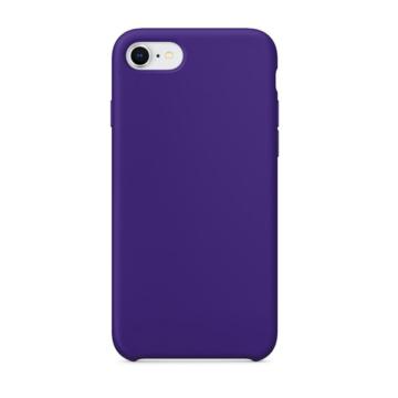 Apple Utángyártott Lila színű Szilikon hátlapi TPU tok, iPhone X/Xs