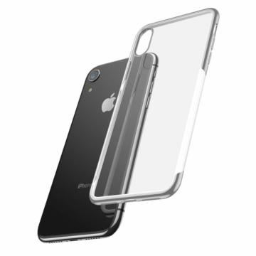 Baseus Shining  Ezüst TPU (szilikon) tok, Apple iPhone X