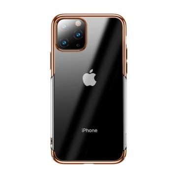 Baseus Glitter Arany PC (műanyag) tok, iPhone 11