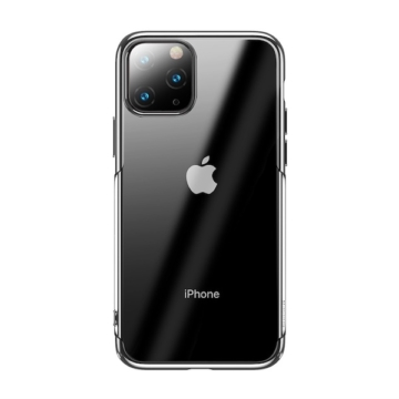 Baseus Glitter Ezüst PC (műanyag) tok, iPhone 11 Pro