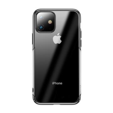 Baseus Glitter Fekete PC (műanyag) tok, iPhone X/Xs