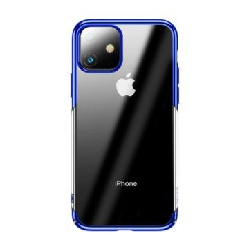 Baseus Glitter Kék PC (műanyag) tok, iPhone 11 Pro Max