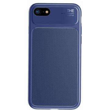 Baseus Knight Case Kék szilikon (TPU) Tok Műanyag Betéttel iPhone 7 Plus/8 Plus
