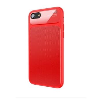 Baseus Knight Case Piros szilikon (TPU) Tok Műanyag Betéttel iPhone 7 Plus/8 Plus