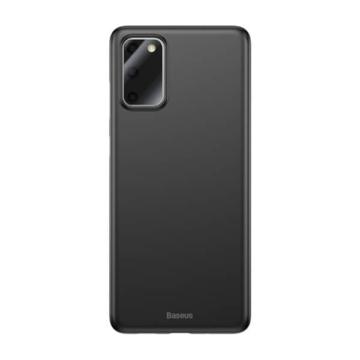 Baseus Wing Protective Case Fekete PC (műanyag) tok, Samsung Galaxy S20 Plus SM-G985