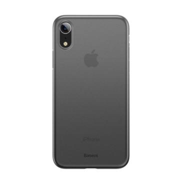 Baseus Wing Ultra Vékony Áttetsző Fekete PP (műanyag) tok, iPhone 11 Pro Max