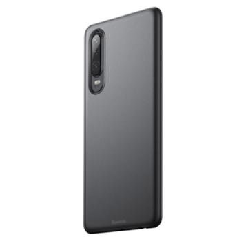 Baseus Wing Ultra Vékony Áttetsző Fekete PP (műanyag) tok, iPhone X/Xs