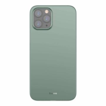 Baseus Wing Ultra Vékony Áttetsző Zöld PP (műanyag) tok, iPhone 12 Pro Max