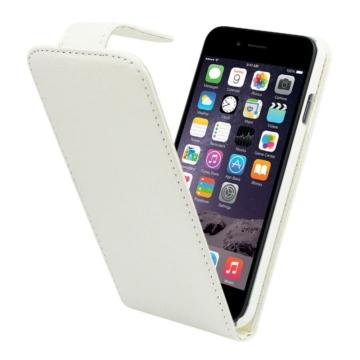 Colorfone Fehér lefelé nyíló műbőr flip tok PC (műanyag) kerettel Apple iPhone 6