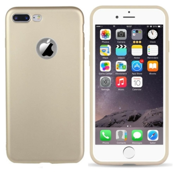 Colorfone Arany Metál színű TPU szilikon tok, Apple iPhone 7 Plus/8 Plus