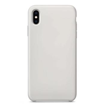 Colorfone Ezüst Metál színű TPU szilikon tok, Apple iPhone 8 Plus