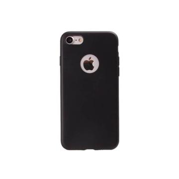 Colorfone fekete csillámos TPU szilikon tok, Apple iPhone 7 Plus/8 Plus