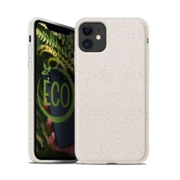 Forcell Bio Lebomló, Komposztálható tok, fehér Apple iPhone 11 Pro