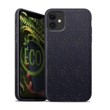 Forcell Bio Lebomló, Komposztálható tok, fekete Apple iPhone 7/8/SE 2020