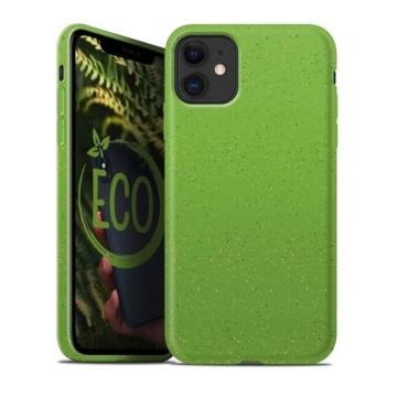 Forcell Bio Lebomló, Komposztálható tok, zöld Apple iPhone 11