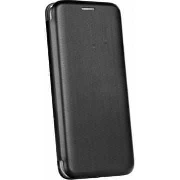 Forcell Elegance, fekete oldalra nyíló flip tok Huawei Honor 20